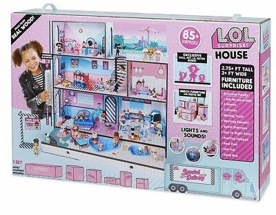 LOL Surprise Doll ~ HOUSE ~ MASSIVE 1 meter tall, 3 stories, Real WOOD FAST POST