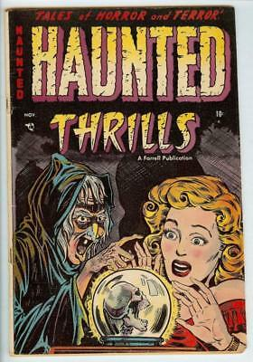 Haunted Thrills #12 1953 Ajax Pre-Code Horror Witch Cover - 3.0 Good/Very Good