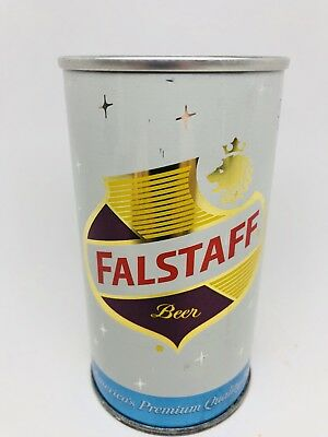 Falstaff Beer - Zip Top Can From St. Louis, Missouri - Very NICE - MO