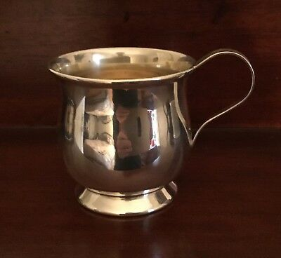 Vintage International Sterling Silver Small Baby Cup 115 grams