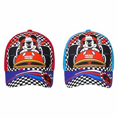 Disney Childrens/Kids Mickey Mouse Racing Cap (KC601)