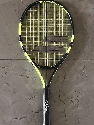 Rafael Nadal SIGNED French Open Champion Babolat Tennis Racquet PROOF
