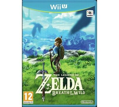 Legend of Zelda Breath of the Wild Nintendo Wii U Game 12+ Years