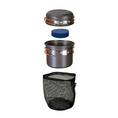 Bulin Camping Cookware Mess Kit Outdoor Backpacking Hiking Cooking Equipment