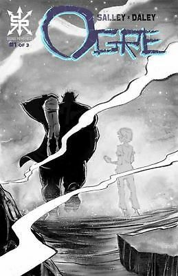 OGRE #1 Grayscale Edition Ltd To 90 NM Source Point Press