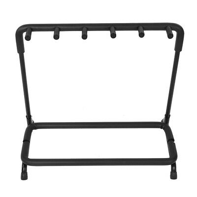 New 5 Way Hold Multi Guitar Stand Foldable Acoustic Electric Bass Display Rack