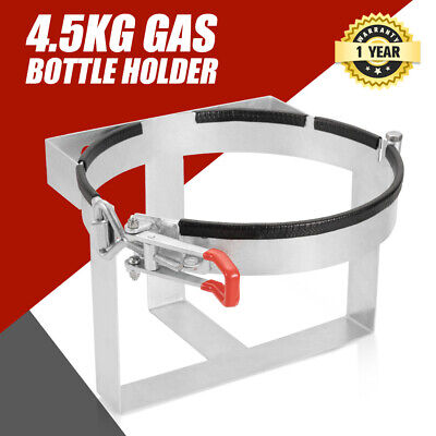Gas Bottle Holder 4.5 Kg Galvanized For Camping Trailer Caravans & 4Wd's