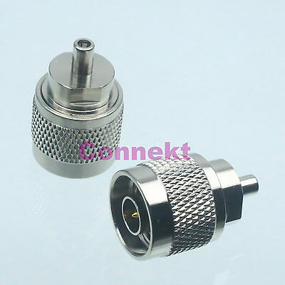 1pce N male plug to SSMB female jack center RF coaxial adapter connector