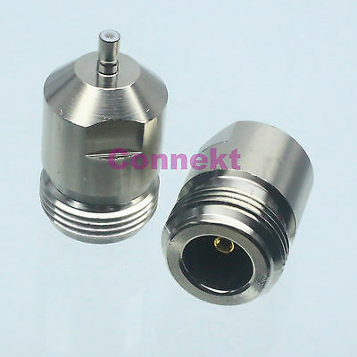 1pce N female jack to SSMB male plug center RF coaxial adapter connector