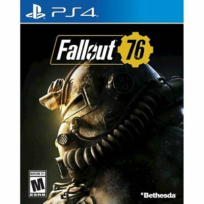 Fallout 76 PS4 BRAND NEW FACTORY SEALED (Eng / Chi ver.) Playstation 4