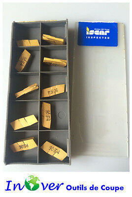 ISCAR 10 pcs GIP4.00E-0.40 IC9054 Turning and Grooving Carbide Inserts New