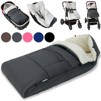Universal Baby Footmuff Liner Pushchair Stroller Buggy Pram Cosy Toes Car Seat