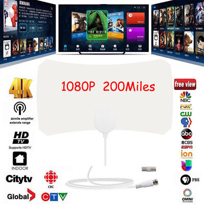 200 Mile Range Antenna TV Digital HD Skylink 4K Antena Digital Indoor HDTV