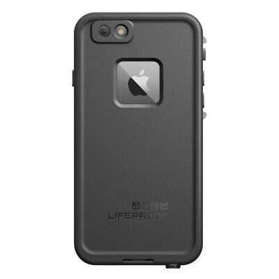 Lifeproof Fre Tough Waterproof Shockproof Black Case Cover for Apple iPhone 6 6s