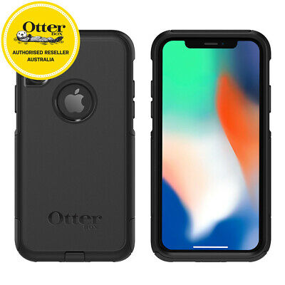 Gen. Otterbox Black Apple iPhone X Slim Cover Dust Drop Commuter Case Protection