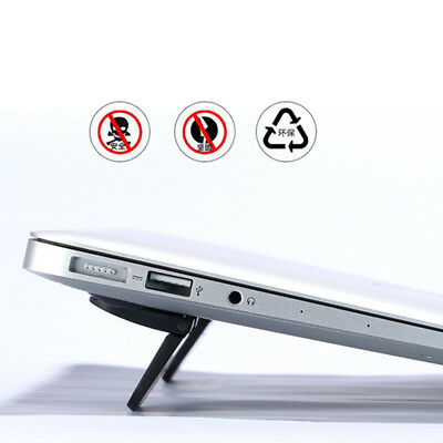 2pcs Notebook Cooling Stand Portable Folding Macbook Tablet Stand Mini Holder