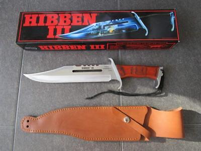RAMBO 3 - First Blood Part III Mega Bowie Messer -HIBBEN III- 1988 KULT