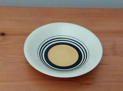 Susie Cooper Yellow Tango Demitasse Coffee Cup Saucer