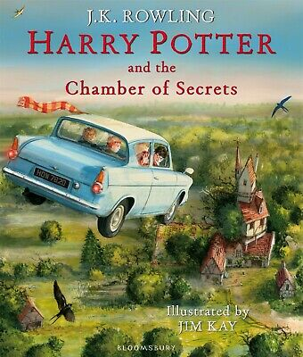 Harry Potter and the Chamber of Secrets Illustrated Edition NEW