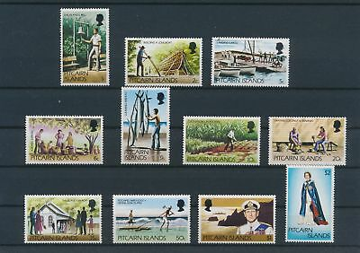 LJ29172 Pitcairn Island agriculture industry fine lot MNH
