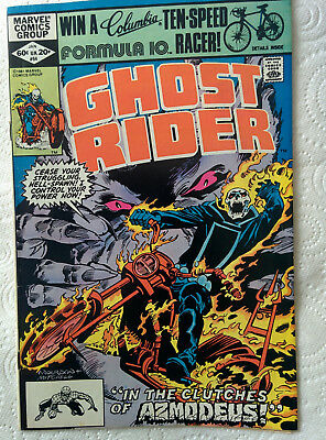 "Ghost Rider #64 ""The Kiss Of Doom""  Marvel Comics dated 1982"
