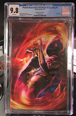 Phoenix Resurrection Return of Jean Grey #1- CGC 9.8 Horn D Virgin Variant