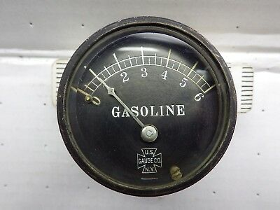 Gasoline Vehicle Dashboard Gauge Packard Car Circa 1913 AS IS  J1130
