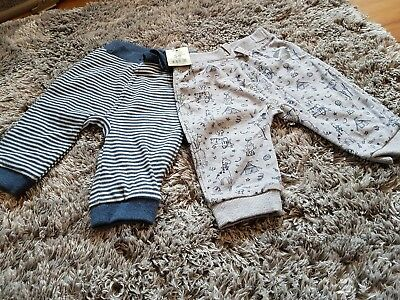 Baby boys pants 2 Pairs 3-6 months
