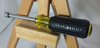 Klein Tools 5/16 Nut Driver Cushioned Rubber Handle New Without Tags