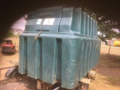 Used Tufts Uk bunded fuel tank
