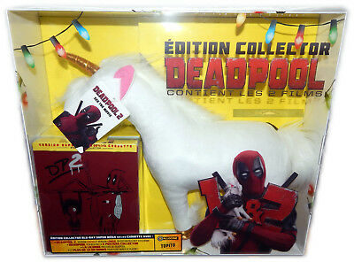 Deadpool 1+2 [Blu-ray] Marvel Steelbook Plüsch Einhorn+Poster Deutsch(er) Ton