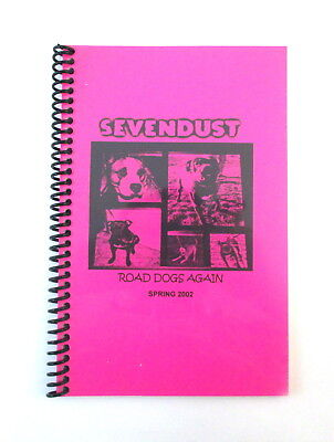 SEVENDUST Road Dogs Again Tour Spring 2002 Band & Crew Itinerary Book