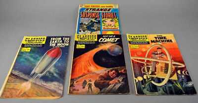 "Comics CDC and Classics Illustrated, ""Strange Suspense"""