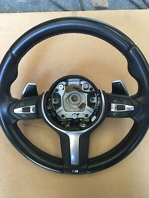 GENUINE BMW M3 LCI M sport steering Wheel with PADDLES fits F20 F30 F32 F15