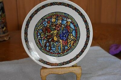 Noel Vitrail Stained Glass Christmas Guided by the Stars  D'Arceau-Limoges