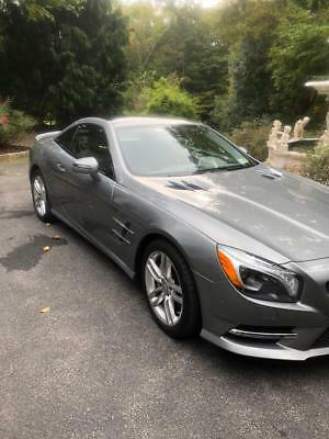 2013 Mercedes-Benz SL-Class  2013 SL-CLASS SL 550 MERCEDES BENZ COMES WITH FACTORY WARRANTY NON SMOKER