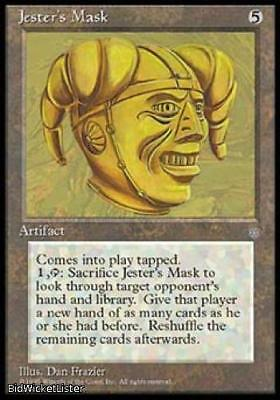 Jester's Mask Near Mint Normal English Magic the Gathering Ice Age Magic Card
