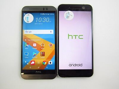Lot of 2 Cracked Assorted HTC Verizon Check IMEI CR 3-1007
