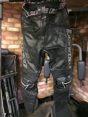 Dainese Leather Trousers Euro 46