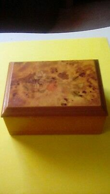 mele jewellery box.mele jewelry and ring box with inland oriental rose marquetry