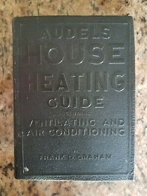 Audels House Heating Guide Including Ventilating And Air Conditioning 1948 1st