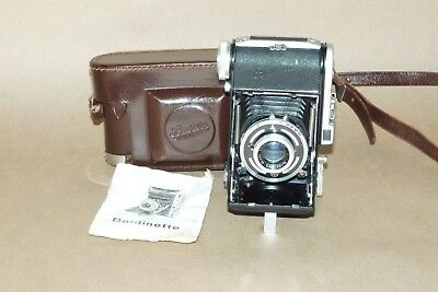 Balda Baldinette folding 35mm camera with Baltar 5cm f2.9 lens