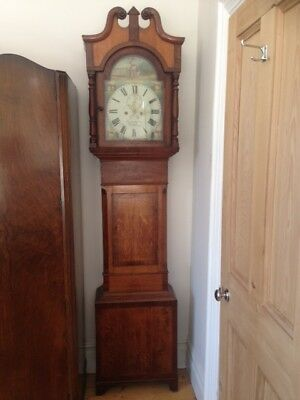 Grandfather Clock - Long Case Clock by Furtwangler, Llanelly