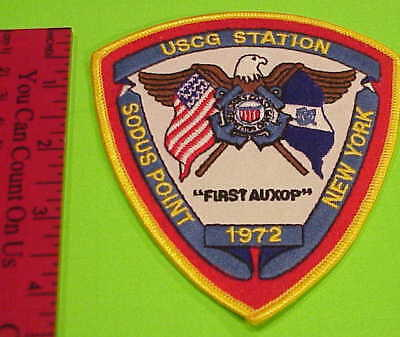 Uscg Station Sodus Point New York United States Coast Guard  Patch  New !!!