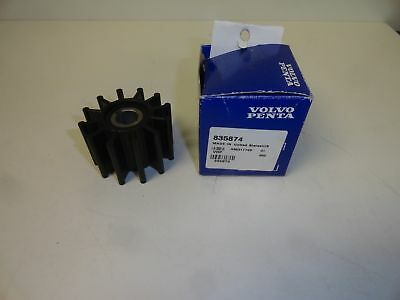Volvo Penta Water Pump Impeller, Aq190A Up To Aq240A, Part # 835874