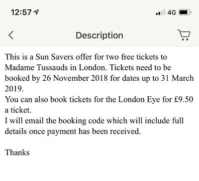 Two Free Tickets To Madame Tussauds London