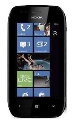 Nokia Lumia 710 in Black Handy Dummy Attrappe - Requisit, Deko, Muster