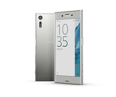 Sony XPERIA XZ in Platinum Handy Dummy Attrappe - Requisit, Deko, Muster