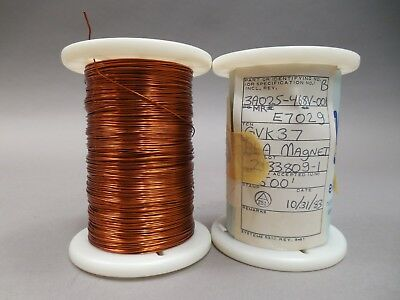 Magnet Wire 22 Gauge AWG Enameled Copper 1,000 Feet Coil Winding 2+lbs