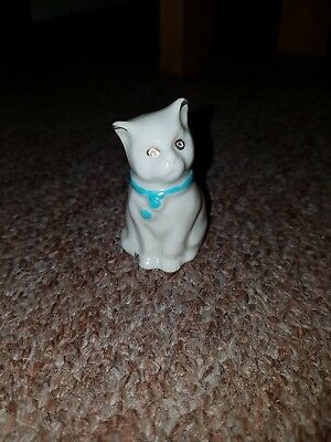 """Carlton Crested China Cat """"Doncaster"""""""